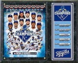 MLB Kansas City Royals 2015 World Series Champions Composite Plaque Wall Sign 15 x 12in