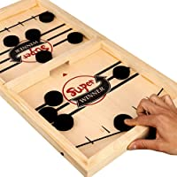 Docooler 1 Bouncing Chess Hockey Game Slingshot Board Game Parent Child Interactive Game 2 Player Desktop Games Tabletop…