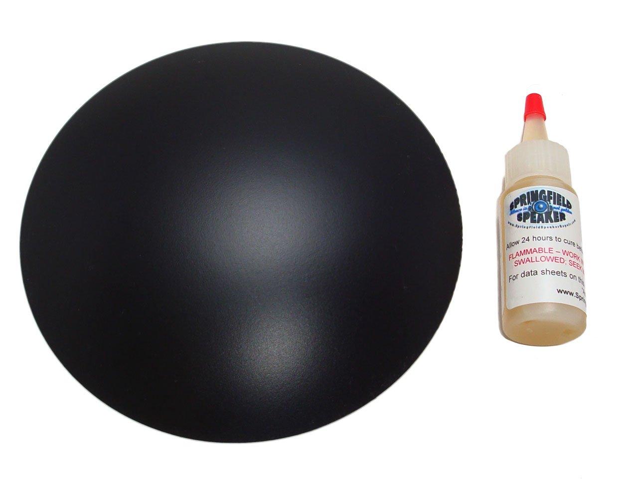 6.5'' Inverted Poly Speaker / Subwoofer Dust Cap Kit