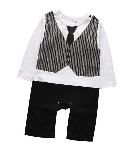 Juego de trajes formales para bebé con chaleco y pajarita BB ...