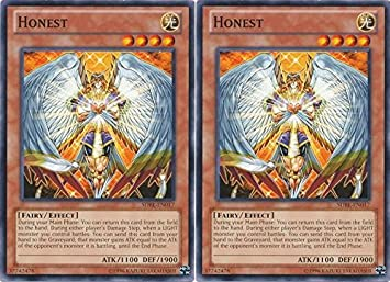 2x sdbe en017 honest unlimited edition mint yugioh cards hand image unavailable aloadofball Choice Image