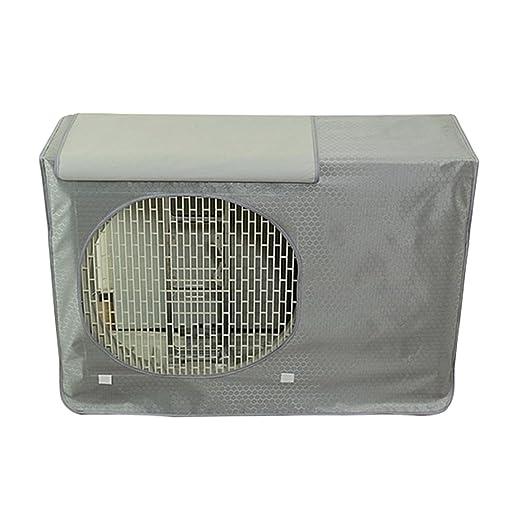 Xianheng Funda Cubierta para Aire Acondicionado para Exterior de Oxford Anti-Polvo contra Sol Lluvia y Viento Práctico Durable #4 L