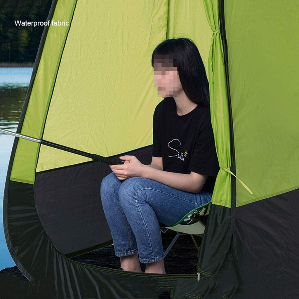 LYN T Tienda de Ducha Plegable portátil HWZP diseñada con Tela Impermeable Adecuada para Tres Estaciones, Tienda de campaña al Aire Libre, Azul 6306220090