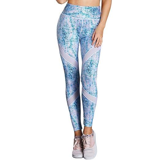 Pantalones De Yoga Capris De Yoga Impresos Leggings De ...