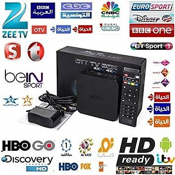 MU Vensmile MXQ árabe IPTV Box 400 Plus Canales en Vivo árabe ...
