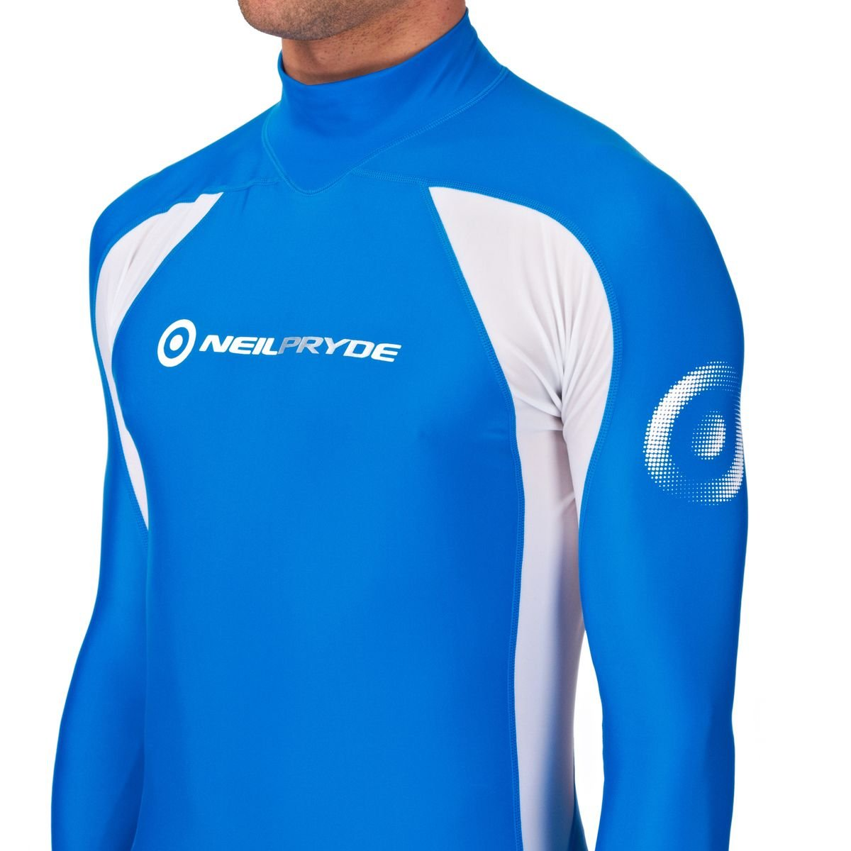 Neil Pryde Elite Rashguard Blue//White