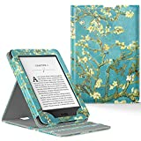 Electronics : MoKo Case for Kindle Paperwhite, Premium Vertical Flip Cover with Auto Wake / Sleep for Amazon All-New Kindle Paperwhite (Fits All 2012, 2013, 2015 and 2016 Versions), Almond Blossom