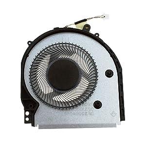 DREZUR CPU Cooling Fan Compatible for HP Pavilion x360 14-CD 14M-CD 14M-cd0001dx 14M-cd0003dx 14M-cd0005dx 14M-cd0006dx 14-cd005ns, TPN-W131 Series Laptop Cooler L18222-001