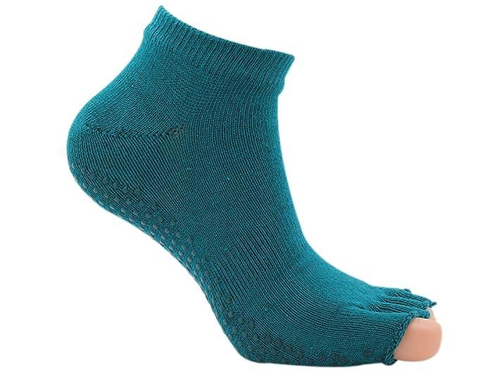 BONAMART 1 Paar Damen Frauen 5 Zehen Socken Zehensocken Toe Socks  35-38