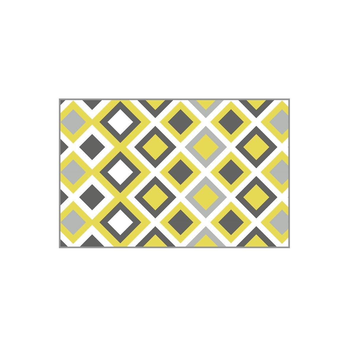 C No-Slip Doormats Door mat- Carpet, Door Mat Can Be Cleaned, Isolated, Non-Slip Wear Pad, Microfiber (Size   C)