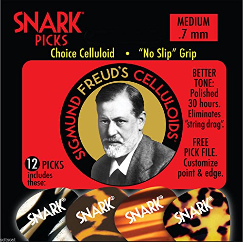Snark Sigmund Freud Celluloid Guitar
