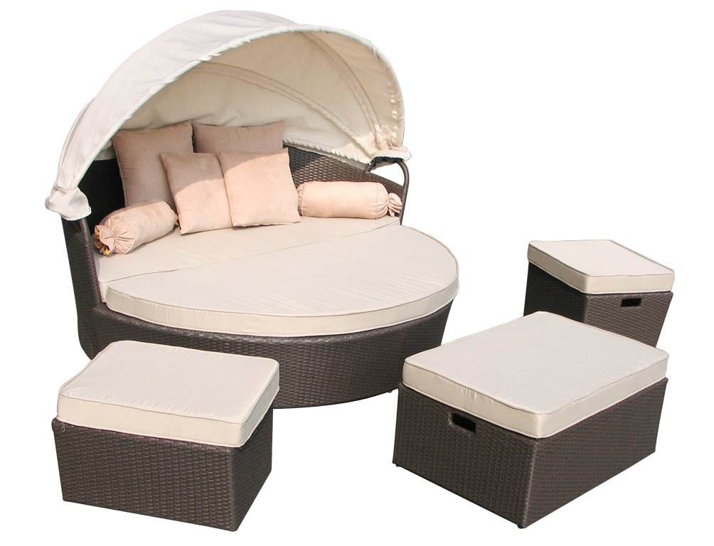 Best Amazonde Design Polyrattan Lounge Insel Loungeset Loungeinsel St  Tropez Anthrazit With Lounge Insel