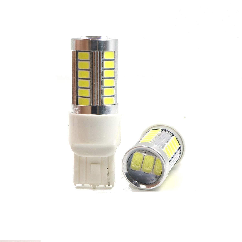 Parking Lights Daytime Running Xenon White 1156 1141 7506 BA15S P21W 1073 Back Up Reverse LED Bulbs
