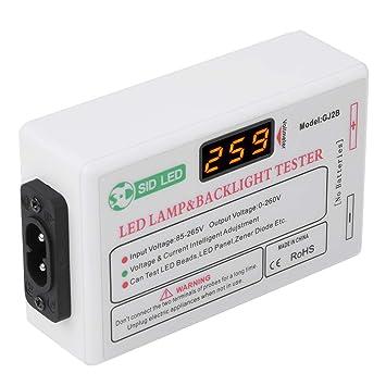 Eboxer 0-260V Prueba de Voltaje Smart-Fit Herramienta de Prueba de Retroiluminación LED para LED LCD TV Ordenador Portátil: Amazon.es: Electrónica