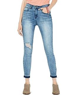 Indigo Rein Juniors Two-Tone Skinny Jeans