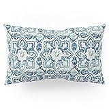 Society6 Tile Pattern IV - Azulejos, Portuguese Tiles Pillow Sham King (20'' x 36'') Set of 2