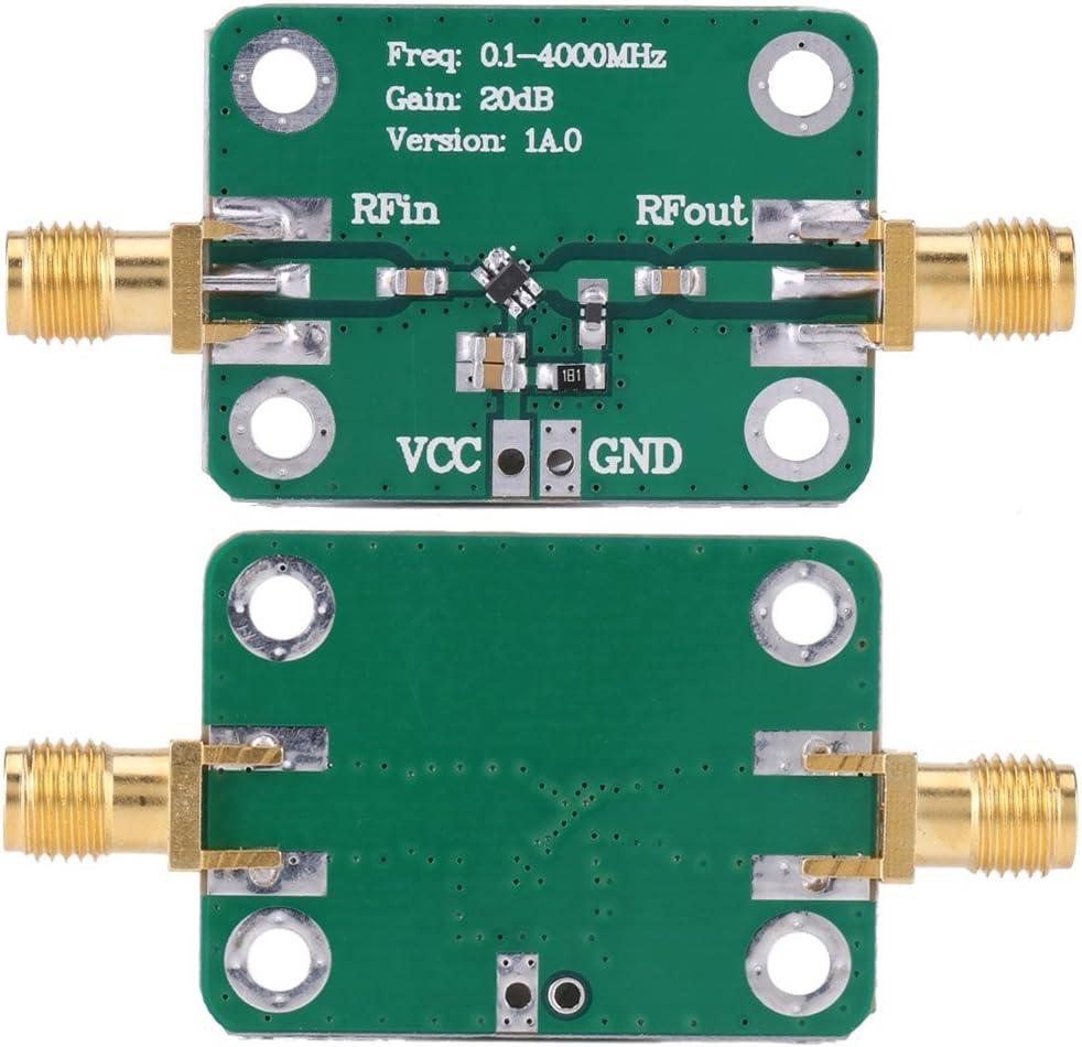 0.1-2000MHz RF Wide Band Amplifier,30dB High Gain Low Noise LNA Amplifier Module