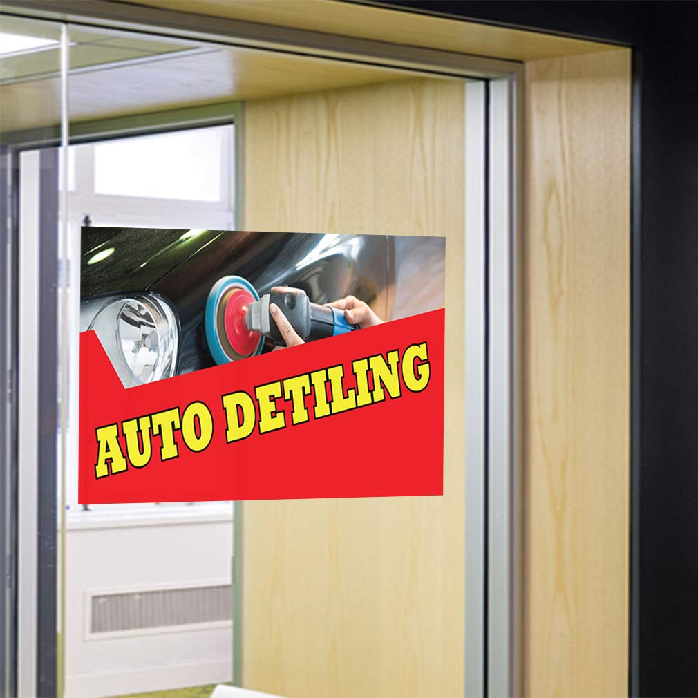 LED Used Cars Sign for Business Displays Rectangle Electronic Light Up Sign for Car Dealerships 17H x 32W x 1D