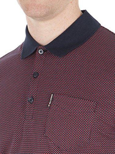 Ben Sherman Herren Poloshirt, Einfarbig