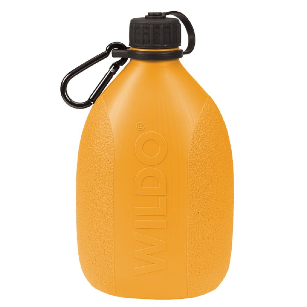 WildoキャンプハイキングCanteen水ストレージ軽量水ボトルW /カラビナBPAフリー B00T8Y48E8 レモン レモン