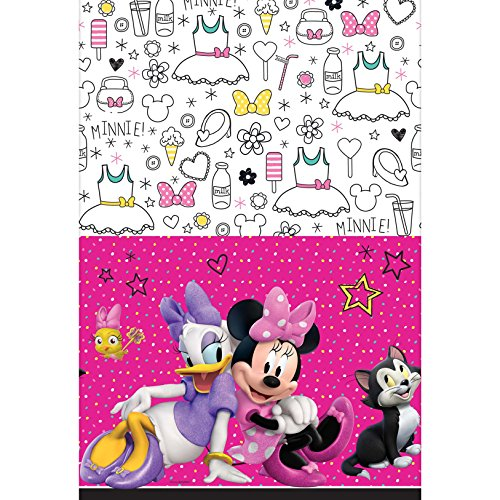 (Minnie Happy Helpers Tablecover [Contains 3 Manufacturer Retail Unit(s) Per Amazon Combined Package Sales Unit] - SKU# 571868)