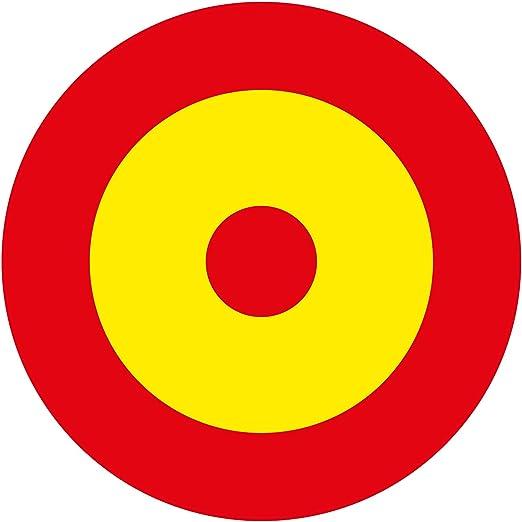 ESPAÑA Fuerza Aérea Española Avión Medallón 10cmPegatina de Vinilo Adhesivo, Sticker, Calcomania … …: Amazon.es: Coche y moto