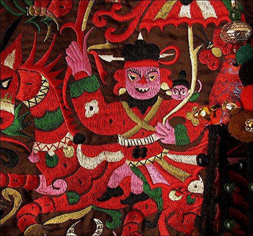 Belle Oriental 100 Handbag 108 Ricamo Pochette Purse Handmade Art pw7Igq74