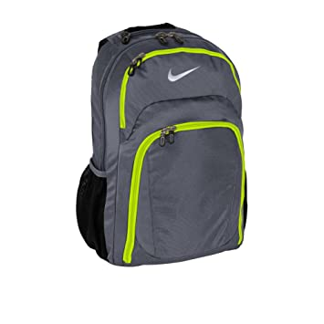 gray nike backpack