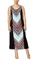 Ny Collection Plus Size Multi-Print Maxi Dress (1X)