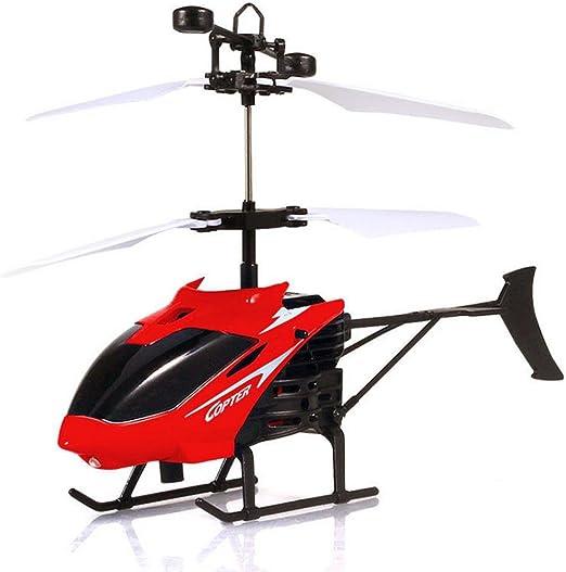 Mini Sensor Hélicoptère + Télécommande, Mamum Flying Mini RC infrarouge Induction Hélicoptère Aircraft lumière clignotante Jouets pour enfant Taille