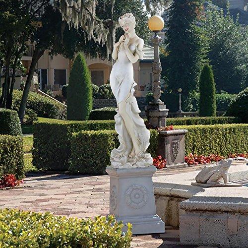 Design Toscano Thalia Muse of The Garden Oversized Statue -