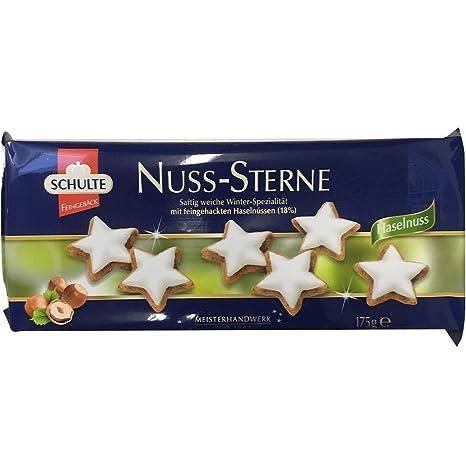 Schulte Nuss-Sterne: Amazon.de: Lebensmittel & Getränke