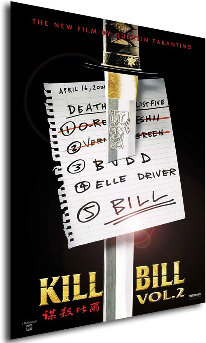 Póster Kill Bill: Volume 2 katana