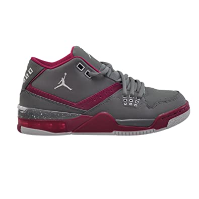 ad28eebe96c6d9 Jordan Flight 23 GG Big Kids  Shoes Cool Grey White-Sport Fuchsia 768910