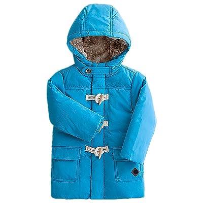 LJYH Baby Boys Winter Warm Coat Kids Boys Hooded Mid Long Down Jacket