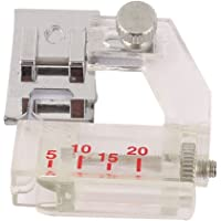 uxcell Plastic Tape Binding Sewing Machine Presser Foot Adjusted Freely White