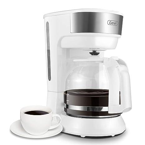 Amazon.com: Cafetera Barsetto de 12 tazas de café, máquina ...