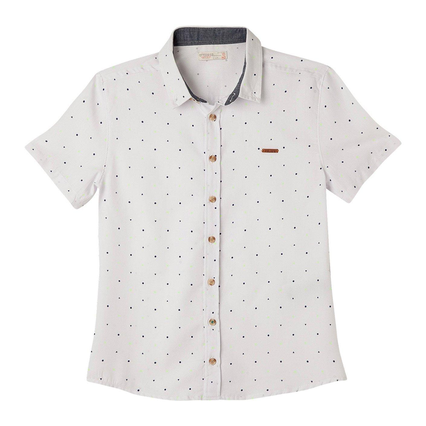 OFFCORSS Big Boys Teen Kid Polo Short Sleeve Camiseta Manga Corta Niño Grande