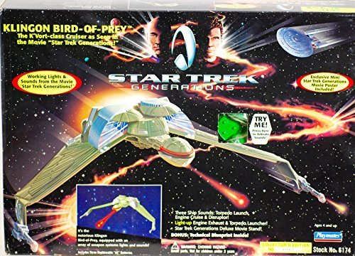 Star Trek Generations Klingon Bird-of-prey Ship