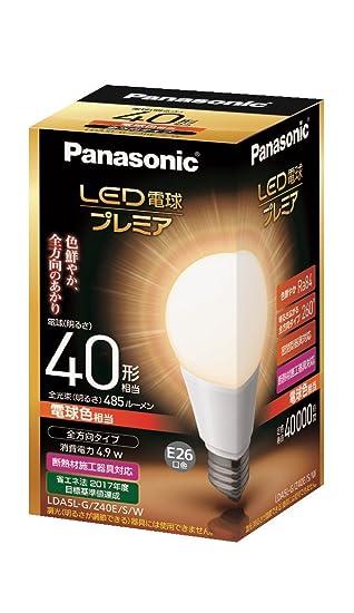 Panasonic bombilla LED General bombilla tipo todas las direcciones tipo 4,9 W (color