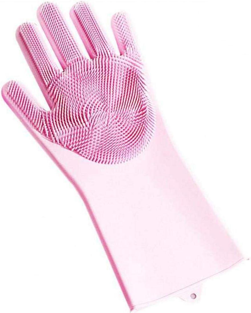 Cuisine Salle De Bains Gants R/éutilisables Magique Laver La Vaisselle Gants Silicone Nettoyage Silicone Brosse Gants /Éponge Vaisselle De Lavage Pour Laver Vaisselle Pet Care Cheveux Voiture