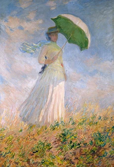 Amazon Com Kunst Fur Alle Art Print Poster Claude Monet Frau Mit