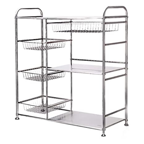 Amazon.com - Vegetable Storage Rack, Kitchen Stainless Steel ...