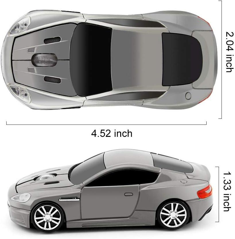 Lbzbz Racing Car Shape Optical USB Cordless Gaming Mouse Car Wireless Mouse