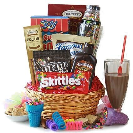 Amazon.com : Ice Cream Party - Ice Cream Gift Basket : Gourmet ...