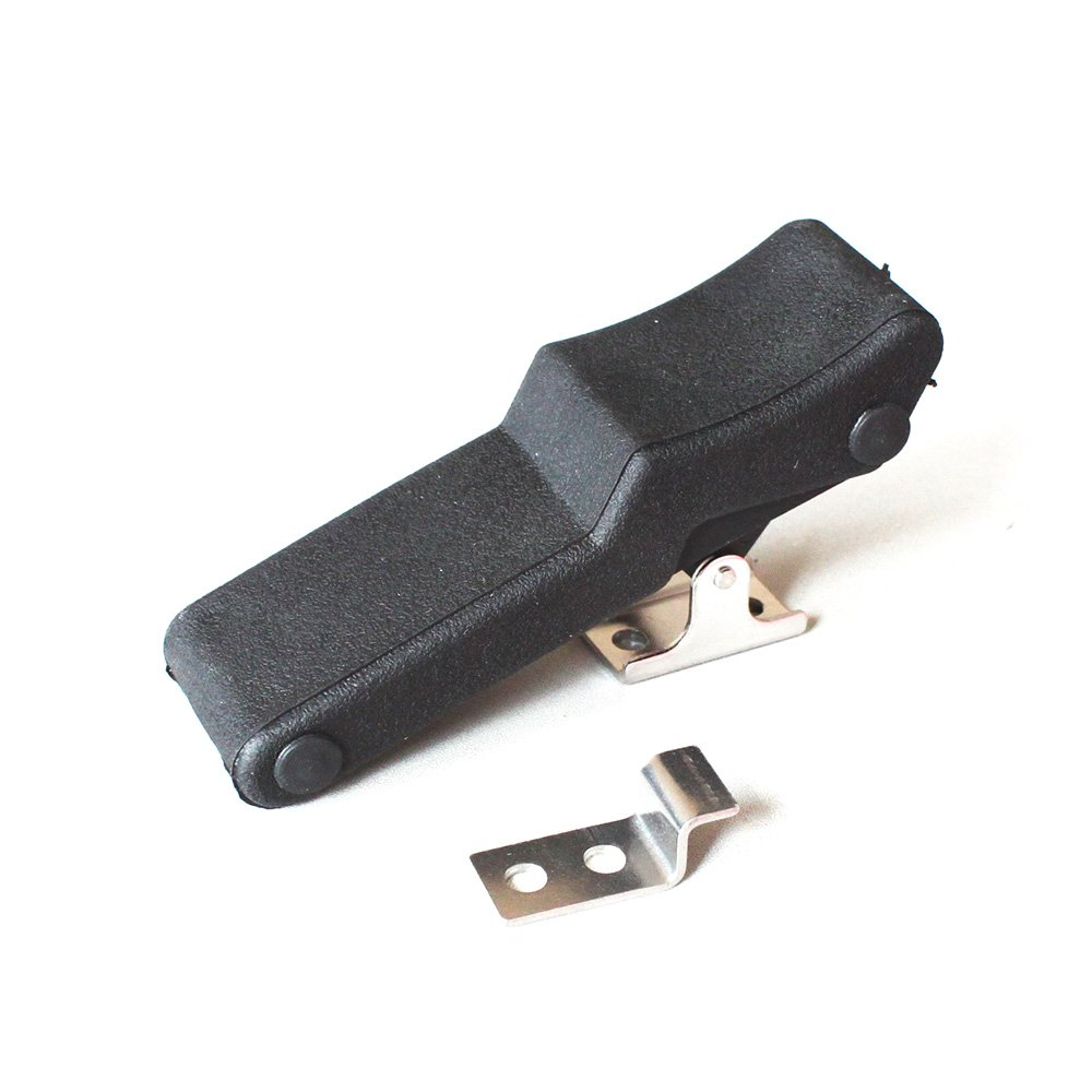 X-Haibei 4 Flexible Draw Latch Soft Black Rubber Over Center Boat Latch Door Handle