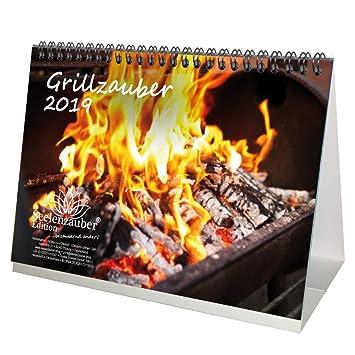 Barbacoa mágica · DIN A5 · Premium mesa/Calendario 2019 · Grillen · Barbacoa ·