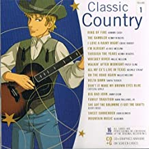 Classic Country Volume 1 (CD+G, CDG Karaoke on screen lyrics)