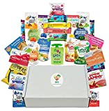 ORGANIC and VEGAN snacks care packages: Annies fruit snacks, Plum Organics, GoGo Squeez, Clif Zbars. Premium organic snacks for kids, vacations, easter, healthy lunch snack. 28 Yummy Snacks