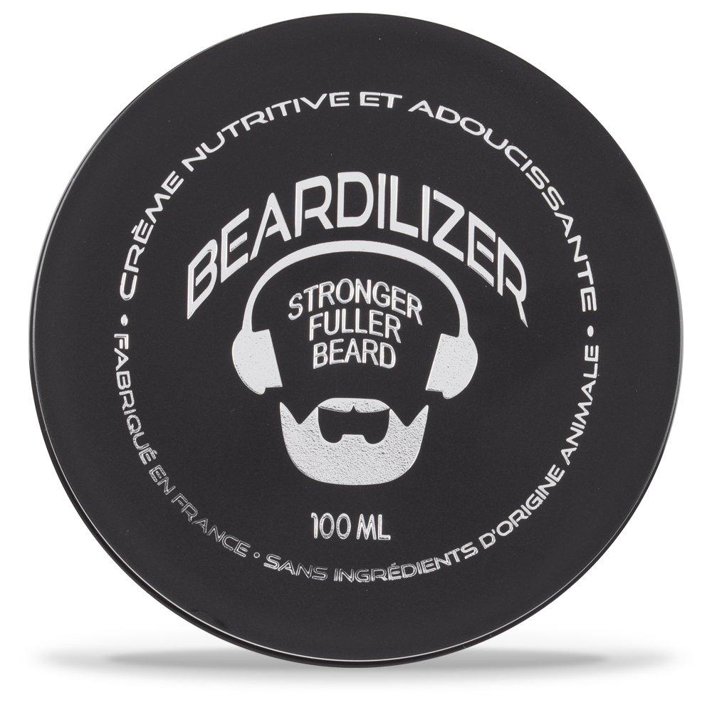 Beardilizer Acondicionador de la barba y crema suavizante - Fórmula hipoalergénica - 100ml Phytobiol